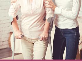 歩行や外出のときの転倒防止にどんなものを使えばいい?