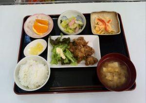 デイサービスのお昼ご飯