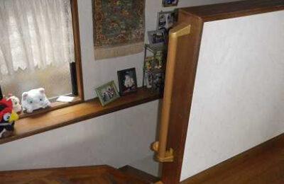 階段横 手摺り取付後