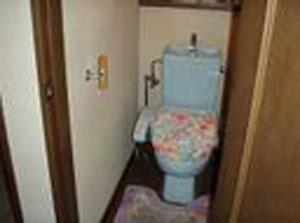 トイレ L型手すり取付前