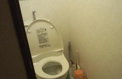 トイレ 手すり取付前